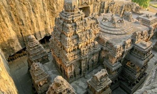 This Indian Temple Carved From A Single Rock